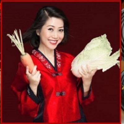 Kim chi - Sữa chua thảo dược châu Á