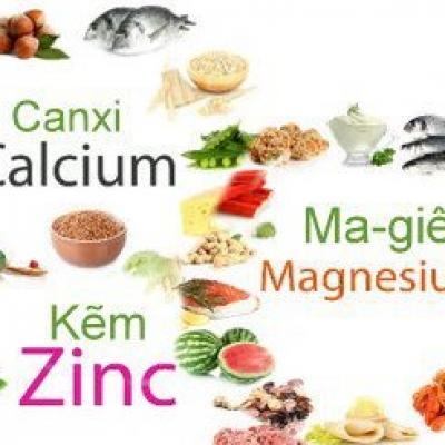 Lợi ích sức khỏe từ việc bổ sung Canxi – Magie – Kẽm